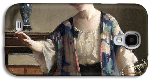 The Canary Galaxy S4 Case by William McGregor Paxton