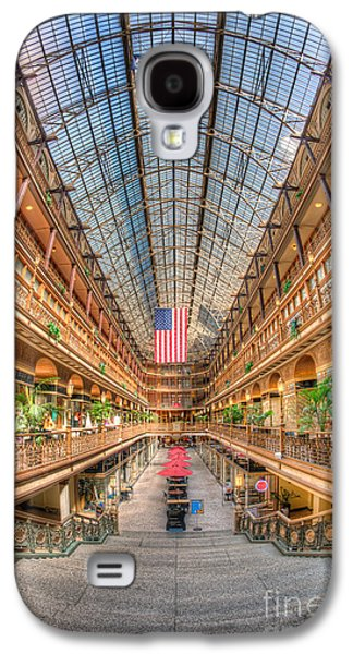 The Cleveland Arcade II Galaxy S4 Case by Clarence Holmes