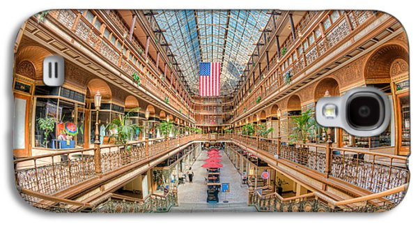 The Cleveland Arcade IIi Galaxy S4 Case by Clarence Holmes