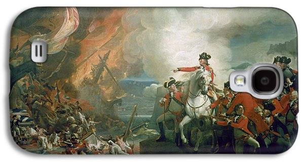 The Defeat Of The Floating Batteries At Gibraltar Galaxy S4 Case by John Singleton Copley