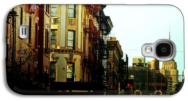 The Empire State Building And Little Italy - New York City Galaxy S4 Case by Vivienne Gucwa