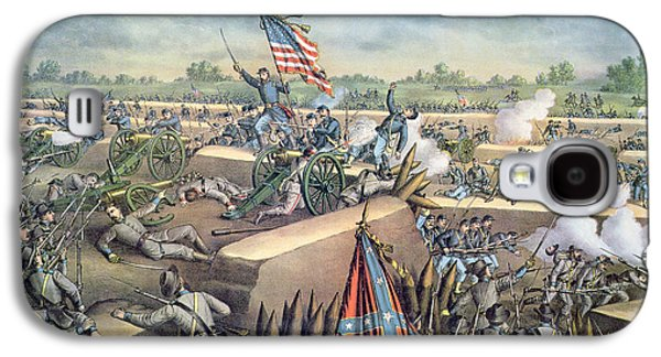 The Fall Of Petersburg To The Union Army 2nd April 1965 Galaxy S4 Case by American School