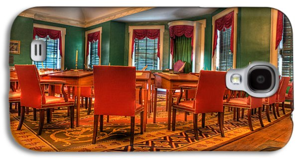 The First American Congress Senate Chamber - Independence Hall - Congress Hall -  Galaxy S4 Case by Lee Dos Santos