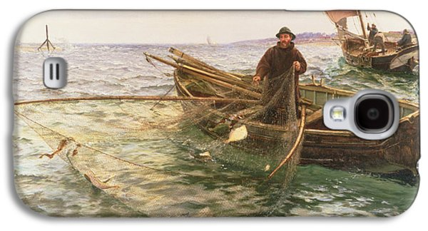 The Fisherman Galaxy S4 Case by Charles Napier Hemy