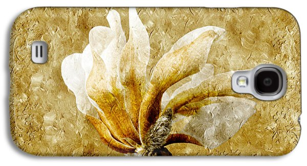 The Golden Magnolia Galaxy S4 Case by Andee Design