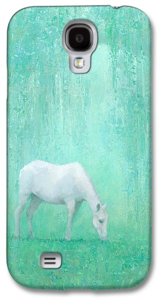 Horse Galaxy S4 Case - The Green Glade by Steve Mitchell
