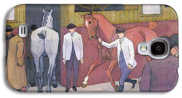 The Horse Mart  Galaxy S4 Case by Robert Polhill Bevan