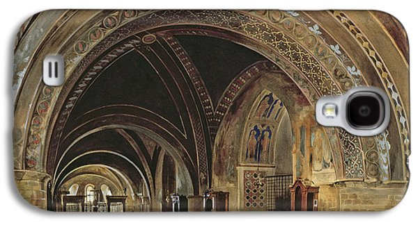 The Interior Of The Lower Basilica Of St. Francis Of Assisi Galaxy S4 Case