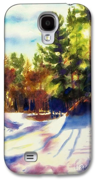 The Last Traces II Galaxy S4 Case by Kathy Braud