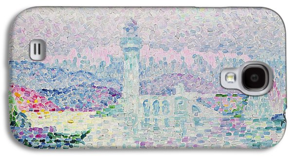 The Lighthouse At Antibes Galaxy S4 Case by Paul Signac