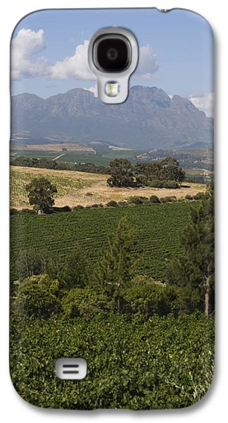 The Lush Garden Landscape Of A Vineyard Galaxy S4 Case