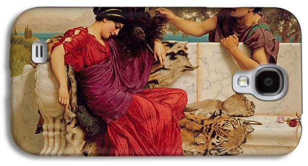 The Old Story Galaxy S4 Case by John William Godward