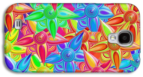 The Power Of Flowers Galaxy S4 Case