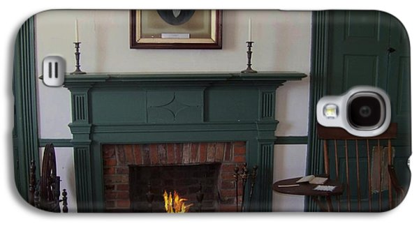 The Rankin Home Fireplace Galaxy S4 Case by Charles Robinson