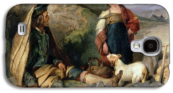 The Stone Breaker And His Daughter Galaxy S4 Case