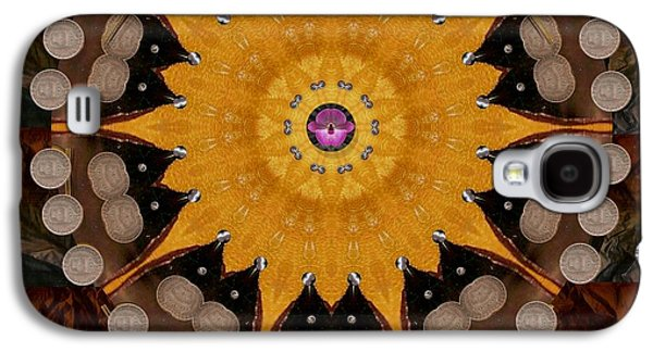 The Sun Will Rise With Light And Love Galaxy S4 Case by Pepita Selles