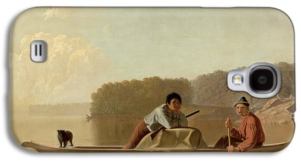 The Trapper's Return Galaxy S4 Case by George Caleb Bingham