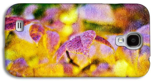 The Warmth Of Autumn Glow Abstract Galaxy S4 Case by Andee Design