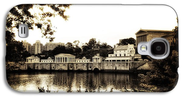 The Waterworks In Sepia Galaxy S4 Case by Bill Cannon