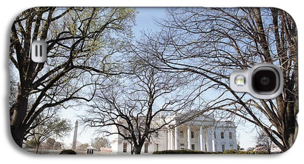The White House And Lawns Galaxy S4 Case