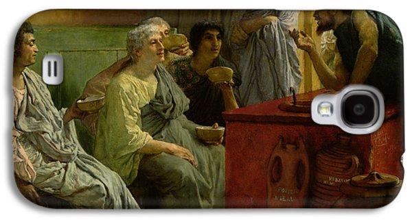 The Wine Shop Galaxy S4 Case by Sir Lawrence Alma-Tadema