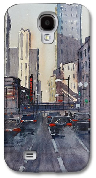 Theatre District - Chicago Galaxy S4 Case by Ryan Radke