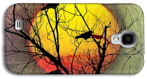 Three Blackbirds Galaxy S4 Case by Bill Cannon