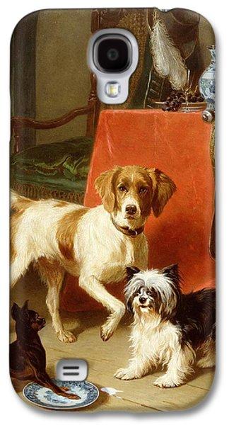Three Dogs Galaxy S4 Case by Conradyn Cunaeus