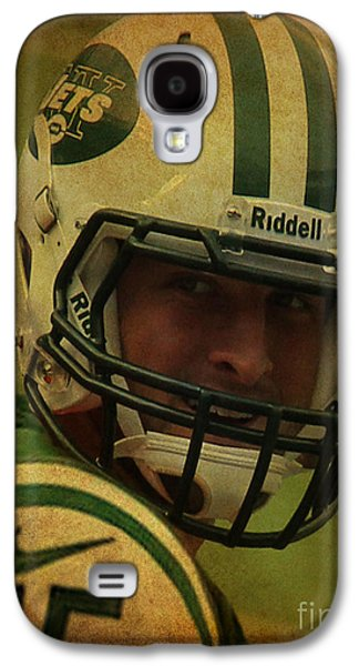 Tim Tebow - New York Jets - Timothy Richard Tebow Galaxy S4 Case by Lee Dos Santos