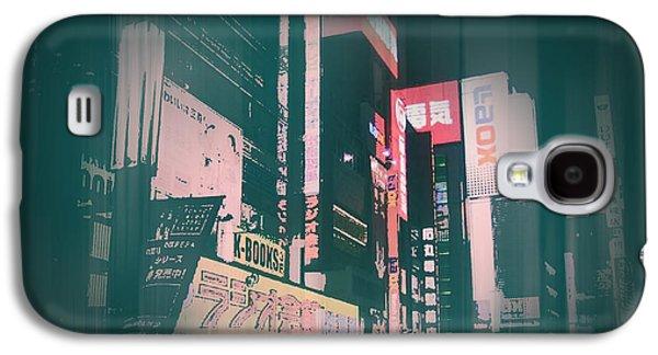 Tokyo Lights Galaxy S4 Case by Naxart Studio