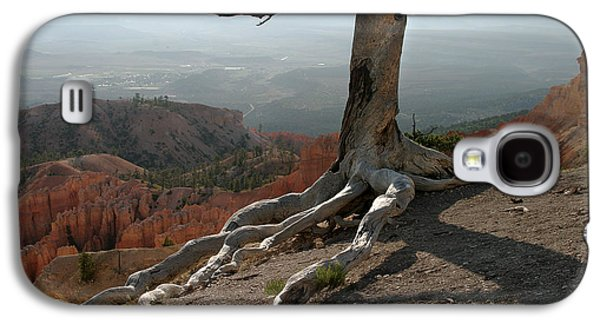 Tree And Roots In Bryce Canyon Galaxy S4 Case by Randall Nyhof
