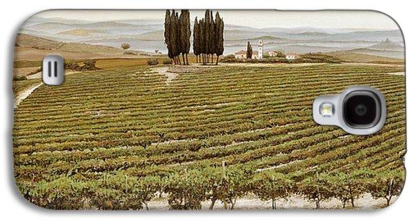 Tree Circle - Tuscany  Galaxy S4 Case