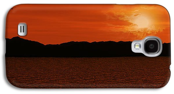 Tropical Sunset Galaxy S4 Case by Lourry Legarde