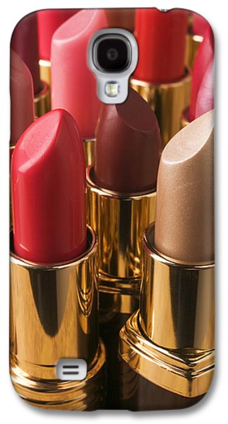 Tubes Of Lipstick Galaxy S4 Case by Garry Gay