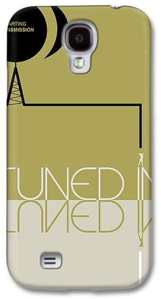 Tuned In Poster Galaxy S4 Case by Naxart Studio