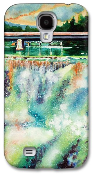 Two Bridges And A Falls 2          Galaxy S4 Case by Kathy Braud