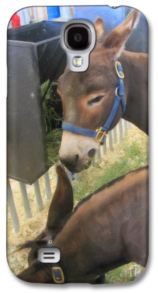 Two Donkeys Eating Galaxy S4 Case