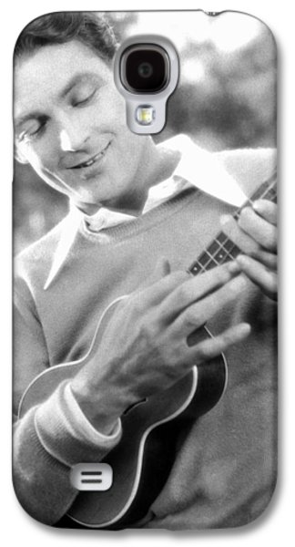 Ukelele Player, C1927 Galaxy S4 Case by Granger