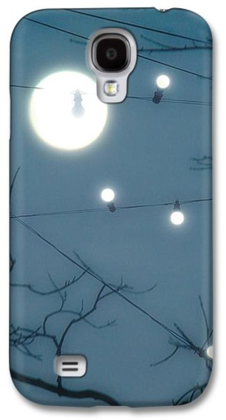 Lights Under The Moonlit Sky Galaxy S4 Case by Gothicrow Images