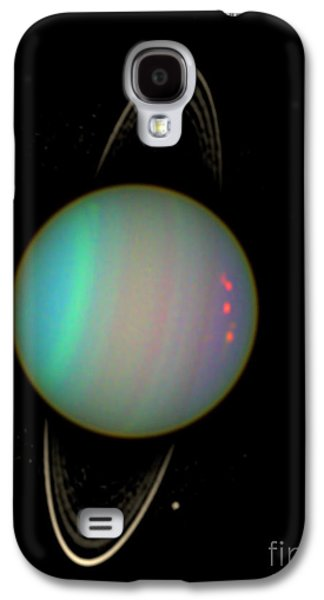 Uranus With Moons Galaxy S4 Case