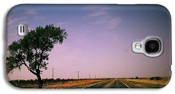 Follow Galaxy S4 Case - #usa #america #road #tree #sky by Torbjorn Schei