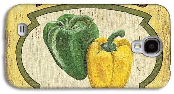 Pepper Paintings Galaxy S4 Cases - Veggie Seed Pack 2 Galaxy S4 Case by Debbie DeWitt