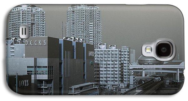 Downtown Galaxy S4 Case - View Of Modern Tokyo by Naxart Studio