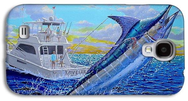 Viking Marlin Galaxy S4 Case by Carey Chen