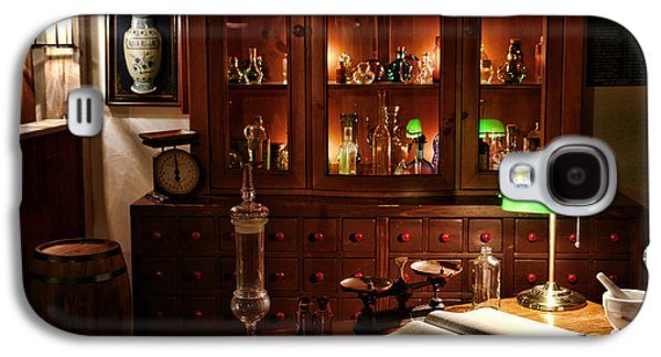 Vintage Chemist Desk In Apothecary Shop Galaxy S4 Case