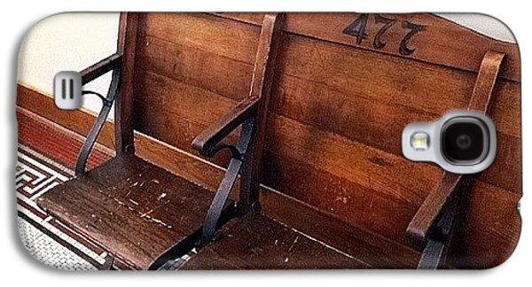 Ohio Galaxy S4 Case - Vintage Courthouse Seats by Natasha Marco