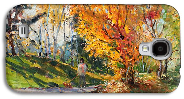 Viola In A Nice Autumn Day  Galaxy S4 Case