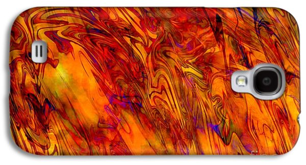 Warmth And Charm - Abstract Art Galaxy S4 Case