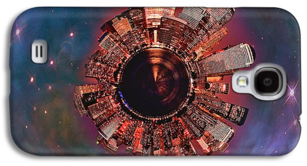 Wee Manhattan Planet Galaxy S4 Case by Nikki Marie Smith