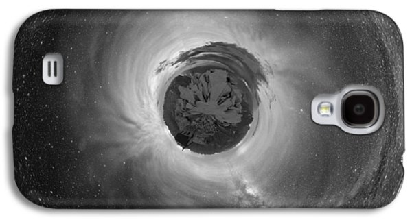 Wee Sequoia Night Sky Planet View Galaxy S4 Case by Nikki Marie Smith